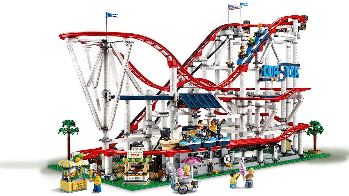 lego roller coaster set