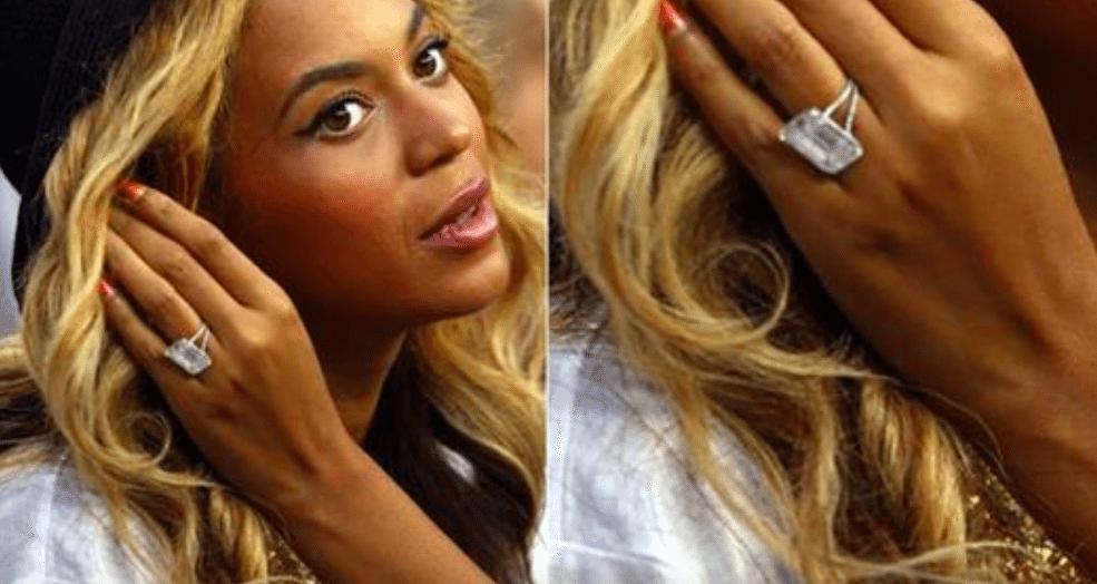 Biggest Celebrity Engagement Rings Simplemost