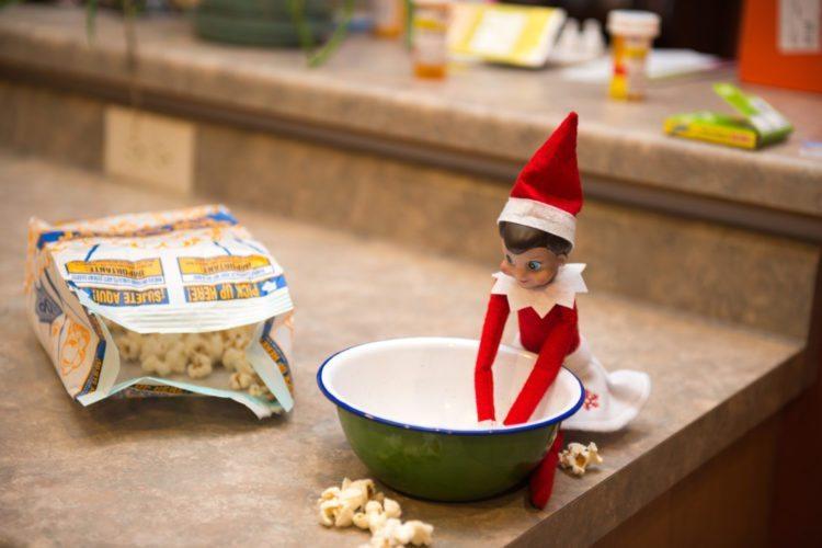 2012 Elf on the Shelf - Snowy