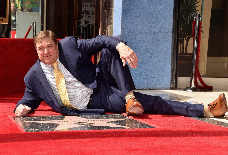 john goodman walk of fame photo