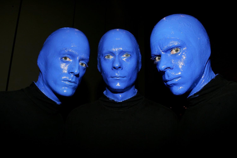 blue man group photo