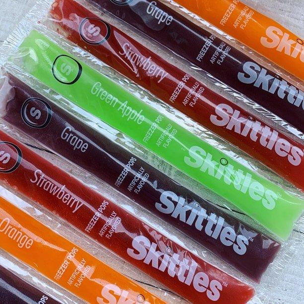 Puedes comprar Skittles Freezer Pops en Walmart este verano