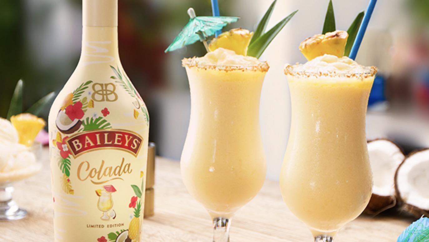 Baileys Colada pina colada drinks