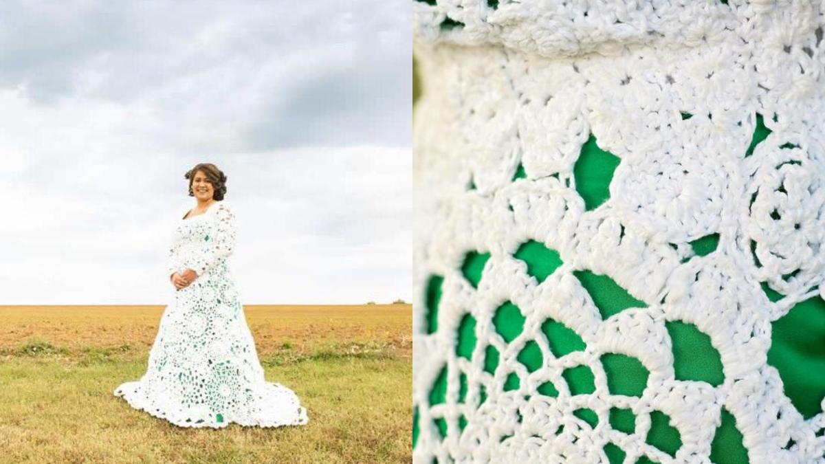 crochet wedding dress abbey bodley